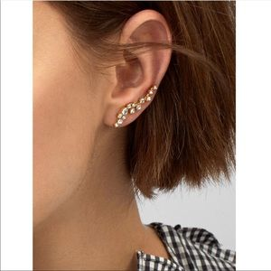 [BaubleBar] Farrah Ear Crawler Earrings.